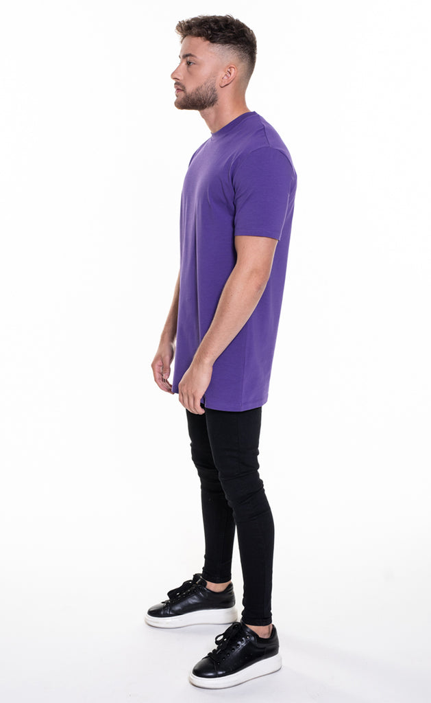 ESSENTIAL T-SHIRT - PURPLE