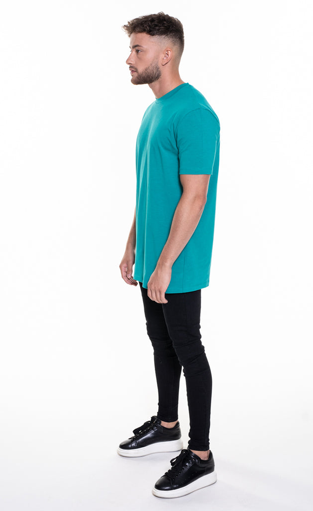 ESSENTIAL T-SHIRT - TEAL