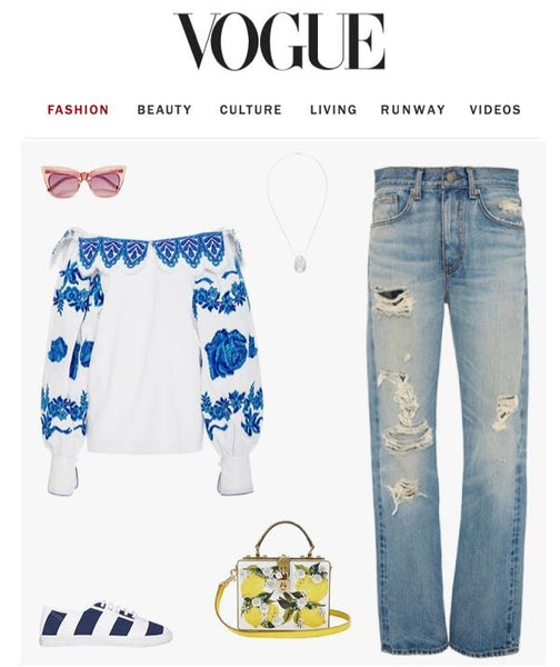 Vogue Summer Style Startas The Sailor
