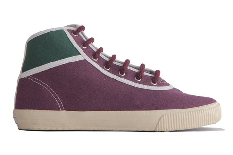 Varsity Burgundy High Top