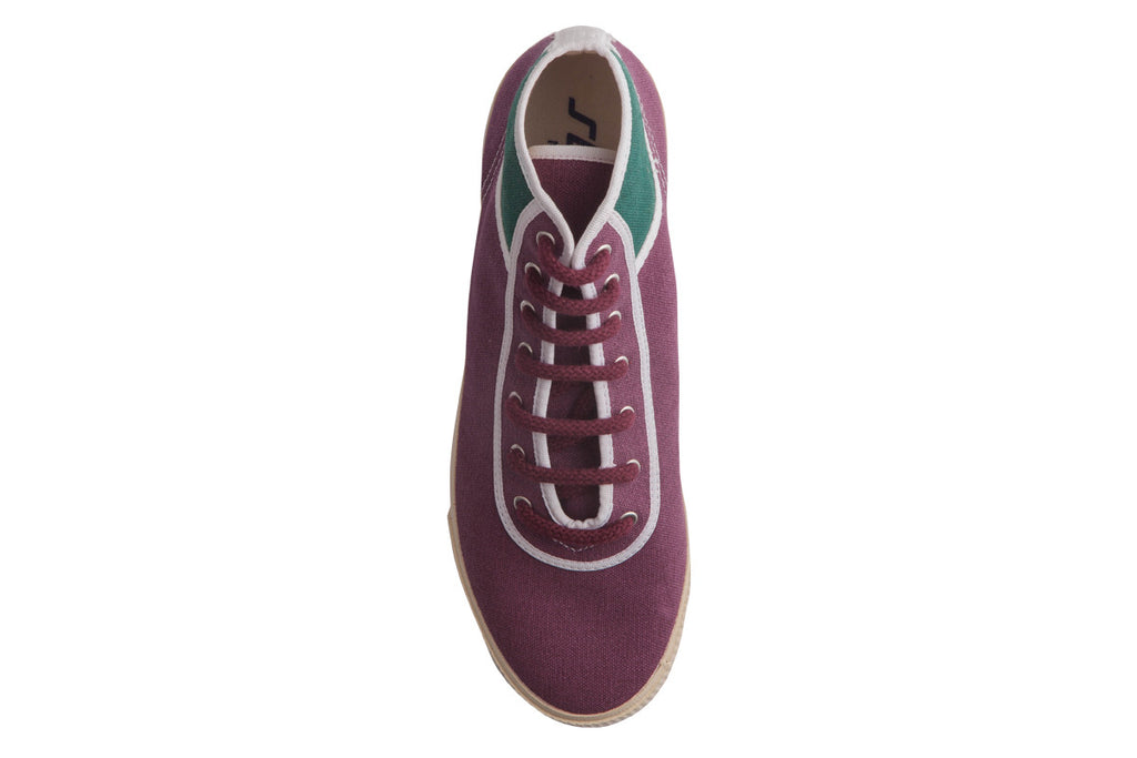 Varsity Burgundy High Top 2