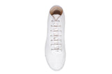 Startas White Hightop- Handmade White Canvas Hightop Sneakers