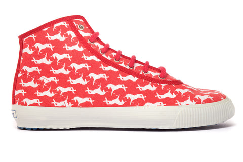 Red Unicorn High Top