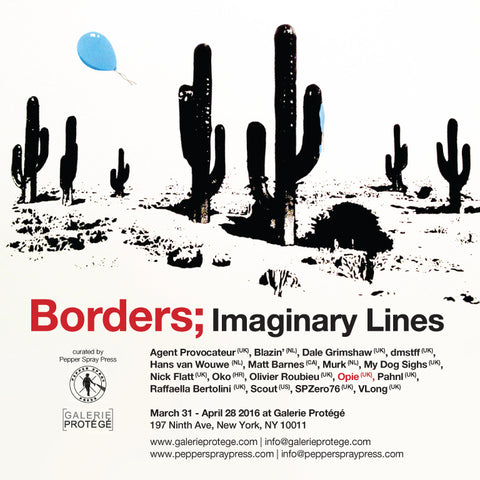 Borders; Imaginary Lines - Galerie Protege, NYC 2016