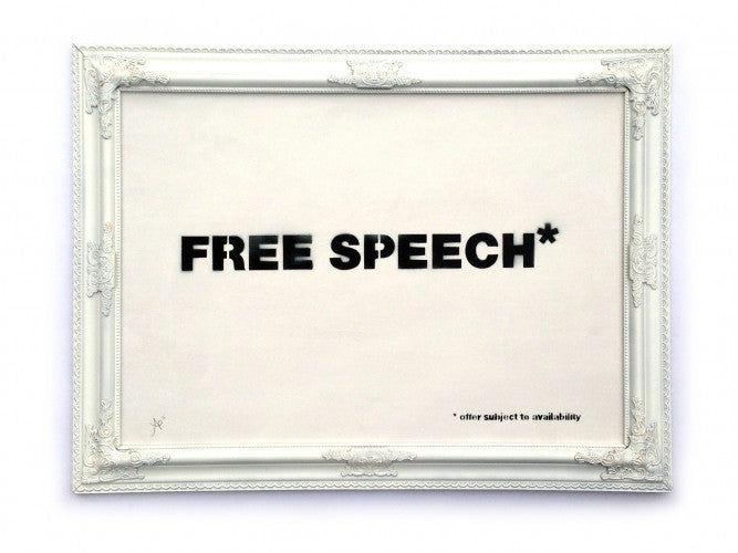 "Agent Provocateur - ""FREE SPEECH* """