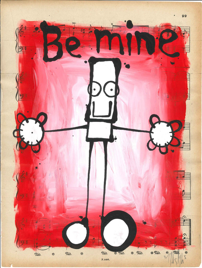 "My Dog Sighs - ""Be Mine"""