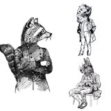 Oko - Animals - 3 Print set