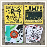 "Split 7"" Series - Release 2.  Lamps x Scout"