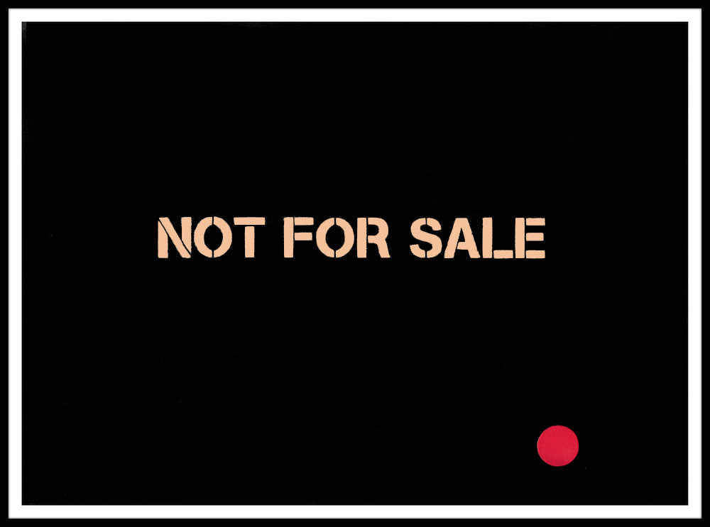 Federation of Ideas - Not For Sale (Sold) Canvas