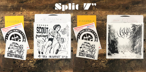 "Split 7"" Series - Release 1.  Scout x Vauxhall"