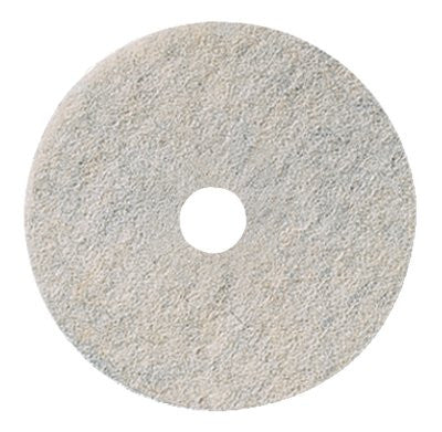 "Niagara™ 20"" Natural White Burnishing Pads 3300N  5/CS - Diversified Distribution Company"