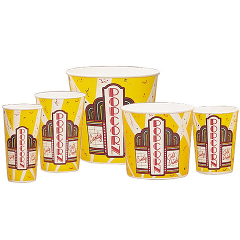 Theater Style Popcorn Cups - Diversified Distribution Company