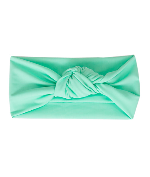 Tied & Knotted Headband - Mint