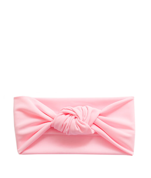 Tied & Knotted Headband - Pink