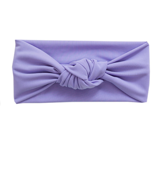 Tied & Knotted Headband - Purple