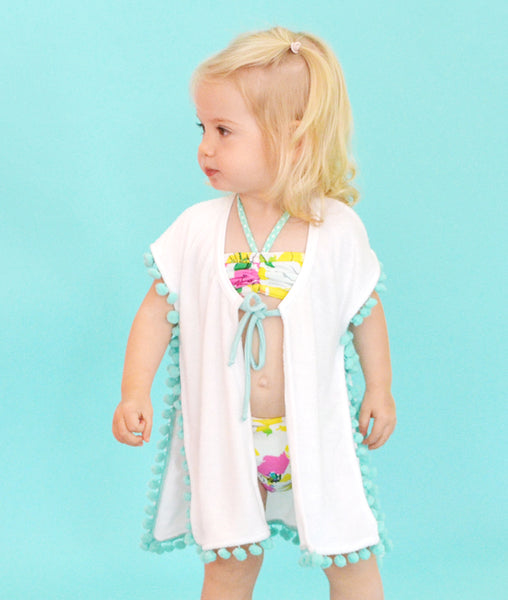 Boho Coverup - Mint