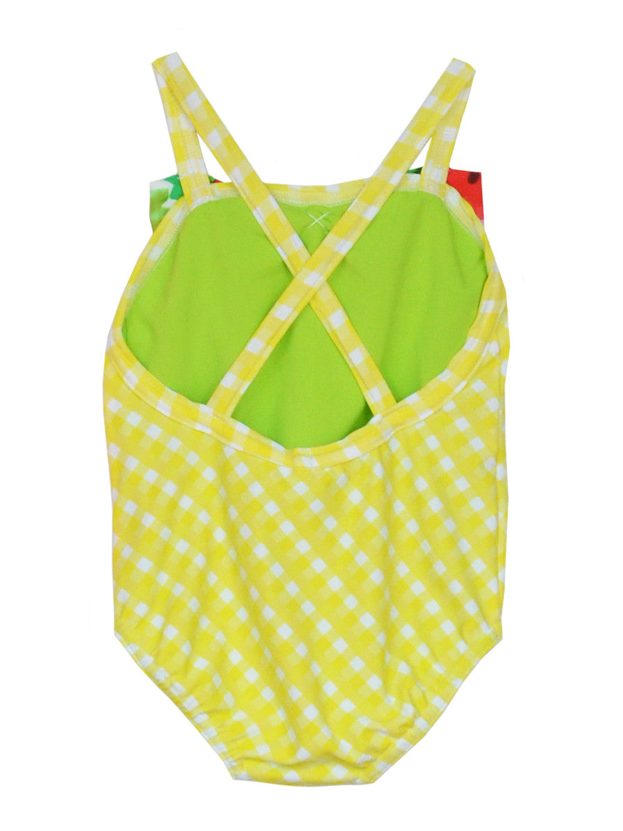 Charlotte - Yellow Gingham