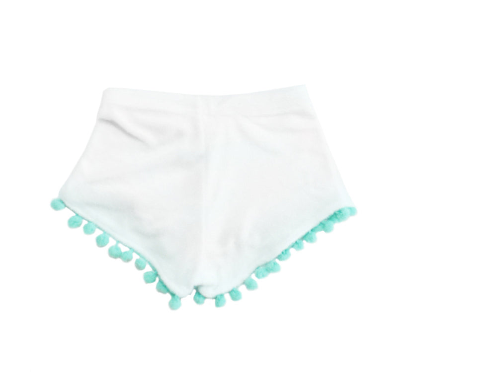 High Waisted Shorts - Mint