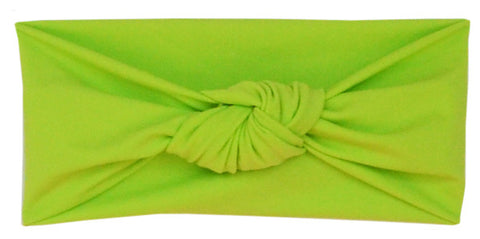 Tied & Knotted Headband - Green
