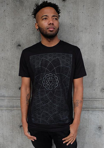 Vitality (Black on Black)  Men's Shirt