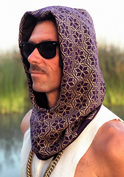 Limited Edition Gold Pattern Hood
