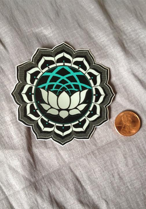 Lotus Sticker