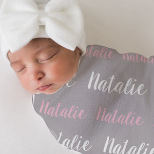 Baby Girl Personalized Blanket