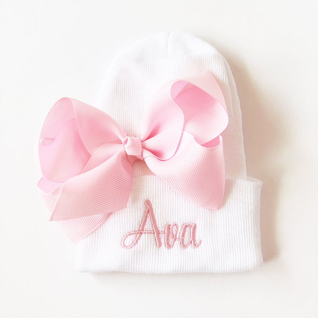 Girls Personalized Hospital Hat