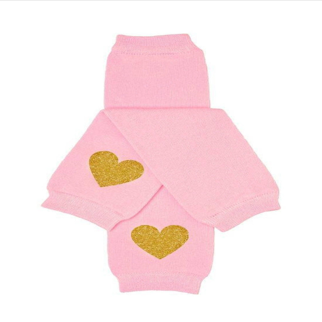 Light Pink Baby Leg Warmers