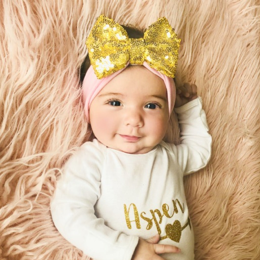 """Born to Sparkle"" Headband"