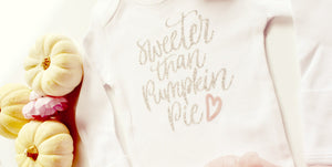 Baby Girl First Thanksgiving Outfit, Fall Outfit for newborn girls