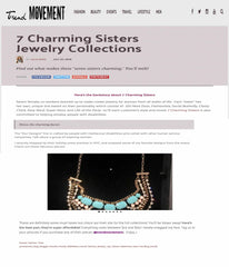 The Trend Movement: 7 Charming Sisters Jewelry Collections