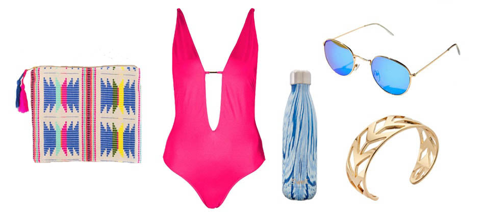 Hot Pink One-Piece and Roadtrip Bracelet