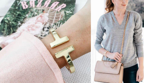 d319df815 Tiffany T Square Bracelet - 7 Charming Sisters Photo Credit: A Polished Posy