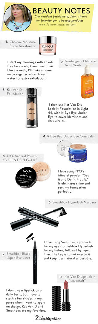 Beauty Products - 7 Charming Sisters