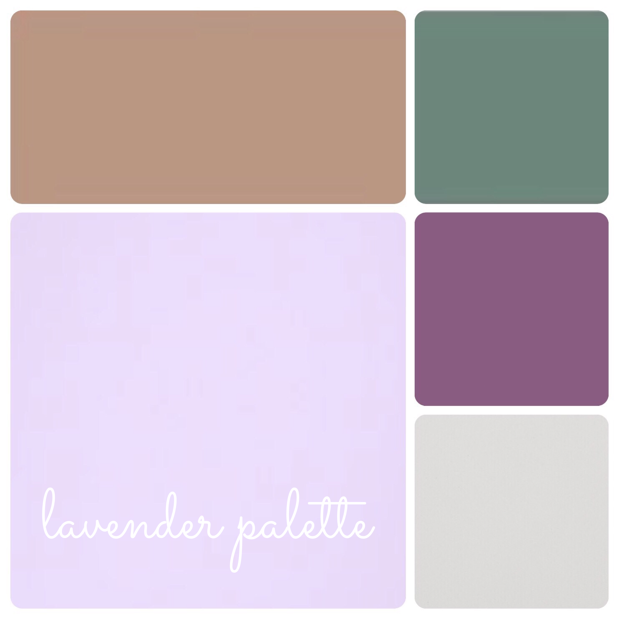 Lavender Palette for Wedding events