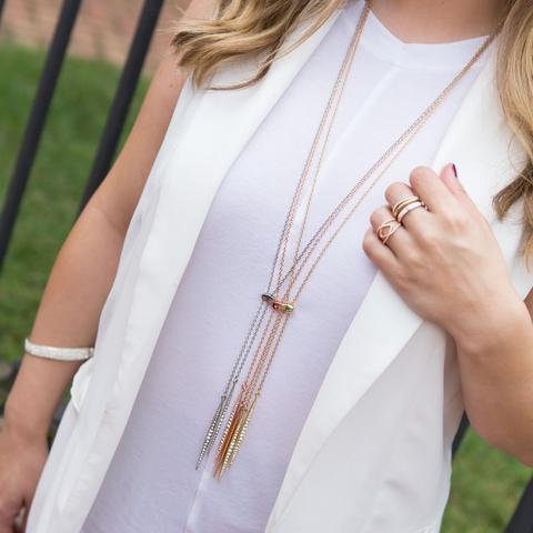 Layered Necklaces with Similar Styles