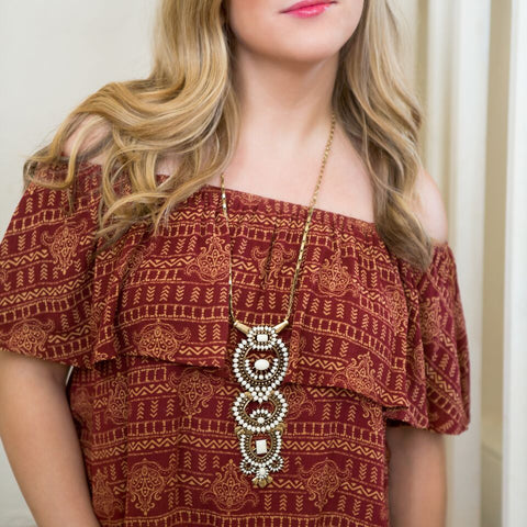 Off the Shoulder Collor Necklace