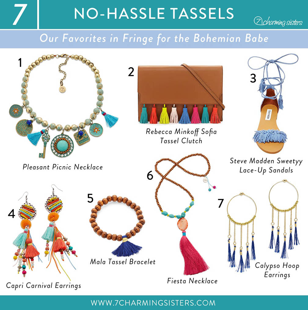 Boho Styled Jewelry and Fashion for Summer