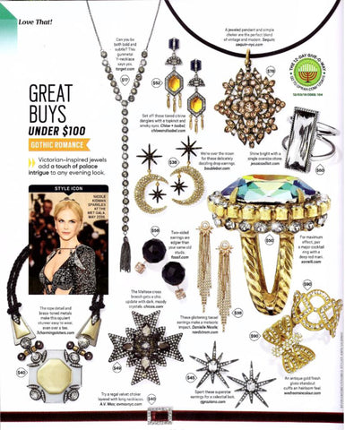 The Oprah Magazine Jewelry Page