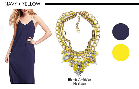 Navy and Yellow Color Combinations