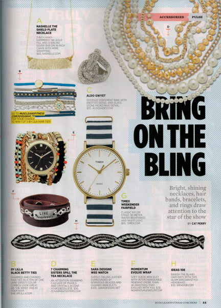 7 Charming Accessories in Muscle and Fitness Magazine