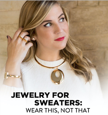 Jewelry Care Guideline for Snagging Jewlery on Clothes