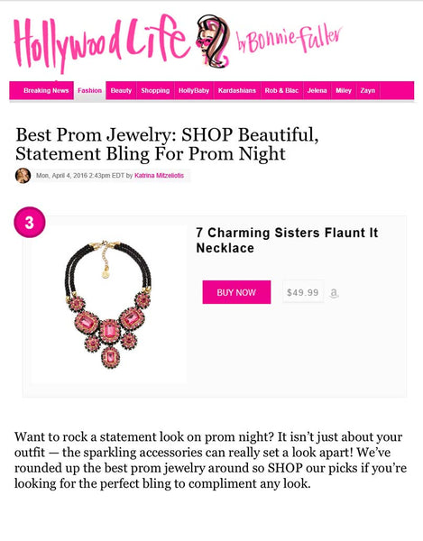 Best Prom Jewelry | 7 Charming Sisters