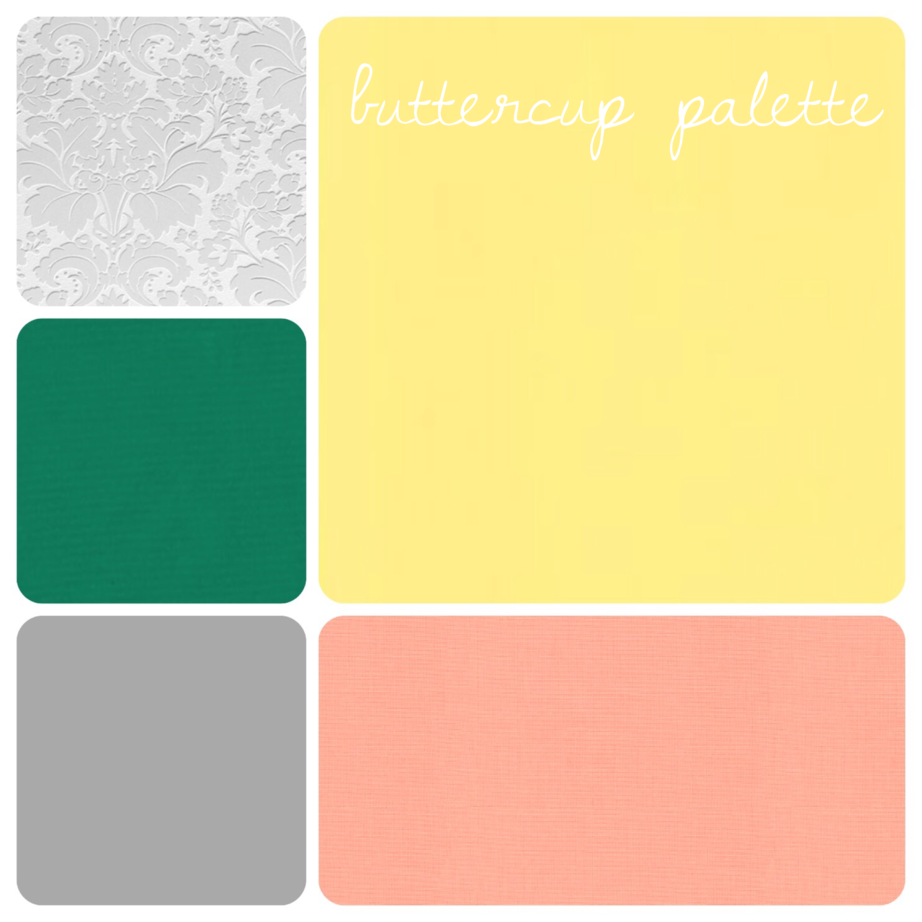 Buttercup Palette - 7 Charming Sisters