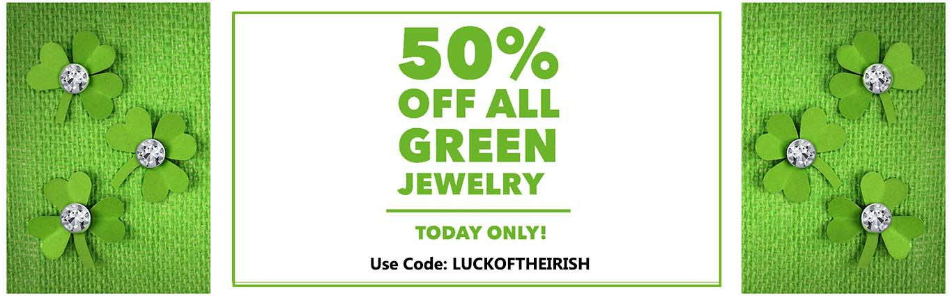 Green Jewelry and Gems