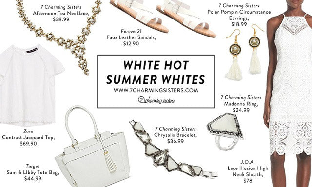 White Hot Summer Collection of Accessories