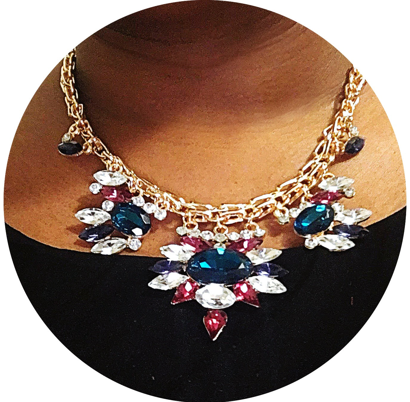 No Less than Perfect statement necklace