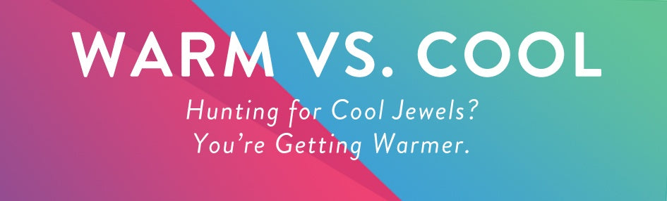 Warm and Cool Color Jewelry for Summer Infographic