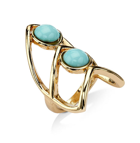 Cheap Gold Knuckle Rings with Stones | 7 Charming Sisters